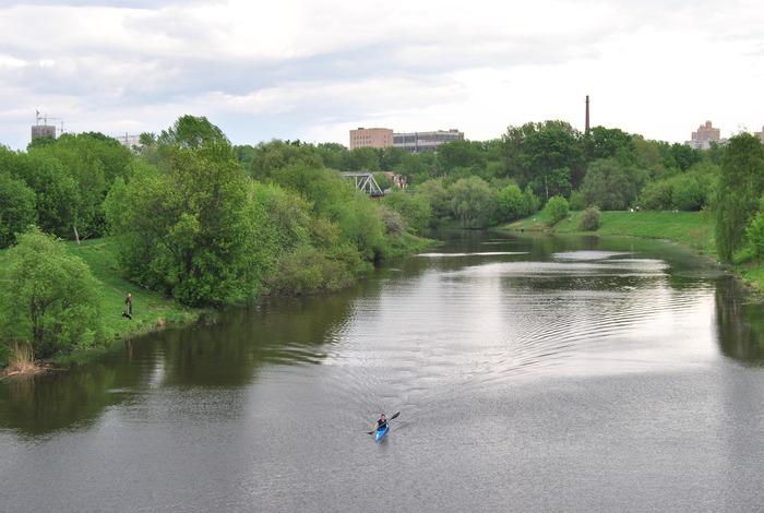 rivier Schodnja Moskou