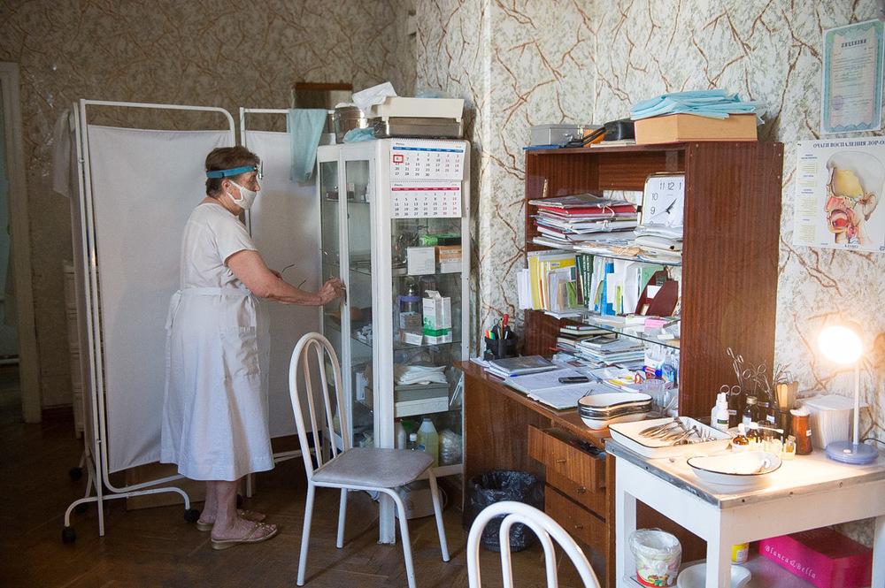 Gezondheidszorg ziekenhuis polikliniek Rusland Sovjetunie