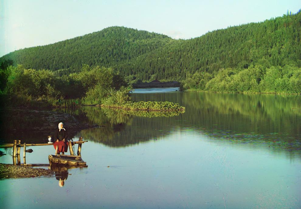 River de Sim, 1910