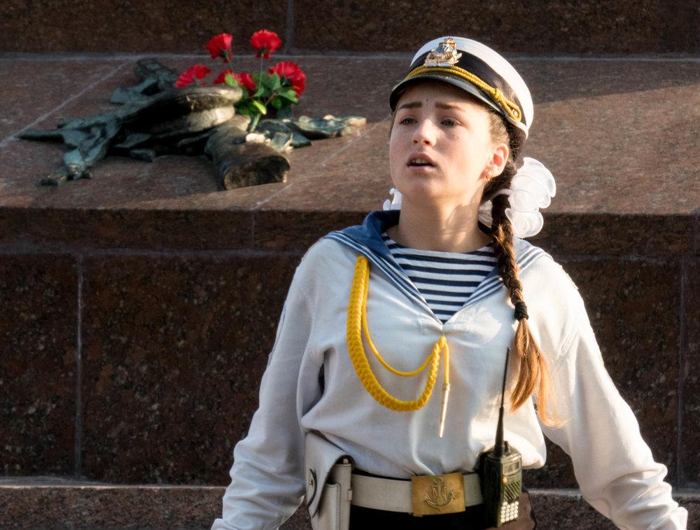Odessa marine Oekraïne eeuwige vlam