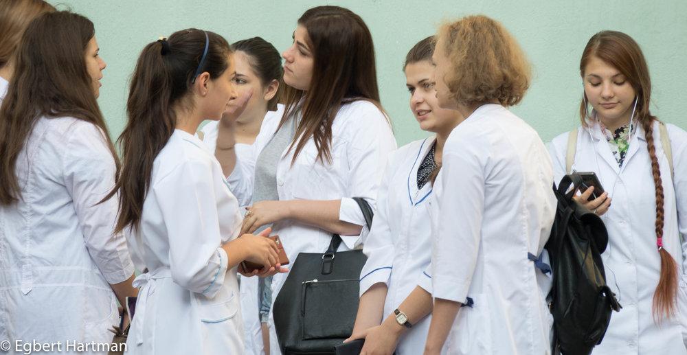 Deribasovskaja Odessa Oekraïne meisjes