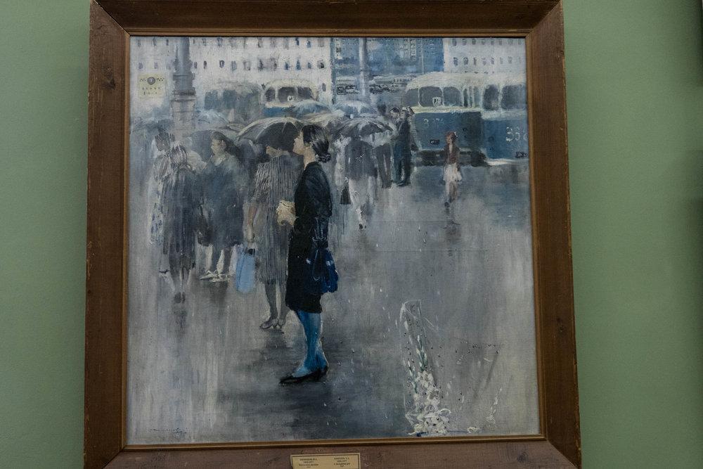 Joeri Pimenov: Meisje in gedachten