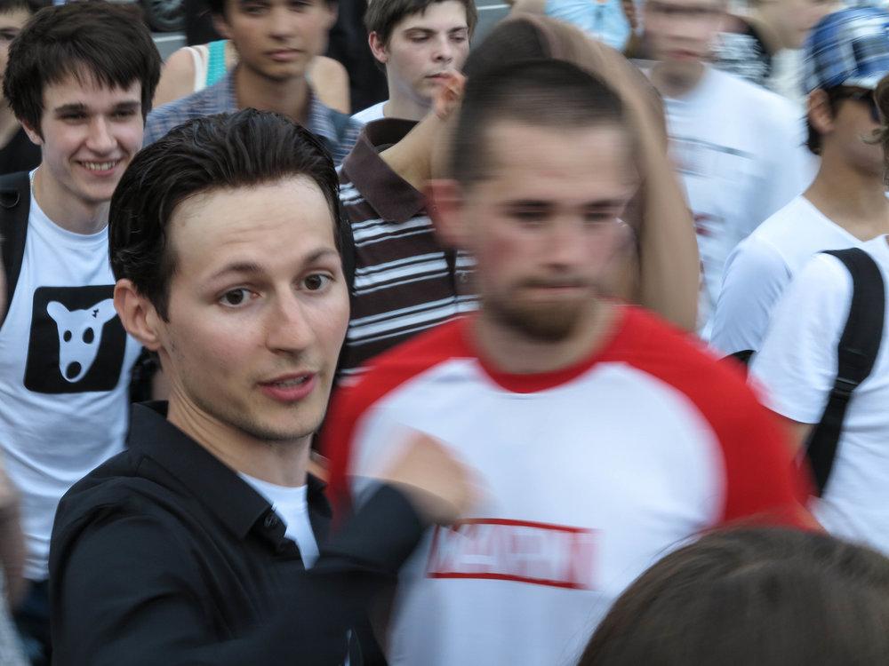 Pavel Doerov in Sint-Petersburg (2012)