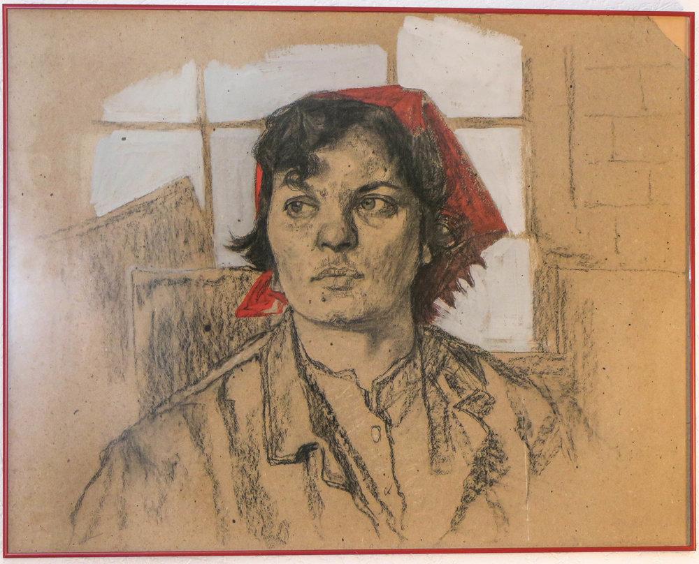 Grigori Kravtsjenko schilderij schilder