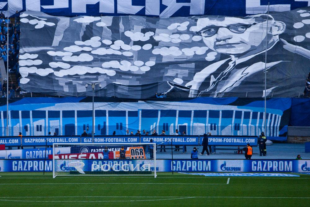 Sjostakovitsj Zenit supporter voetbal