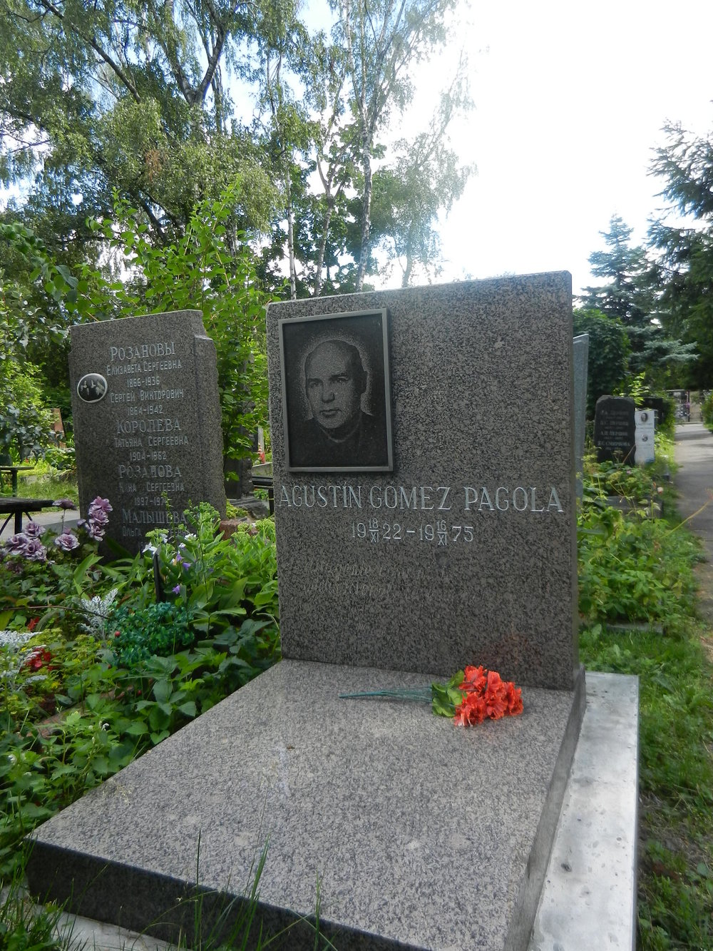 Gomez' graf in Moskou