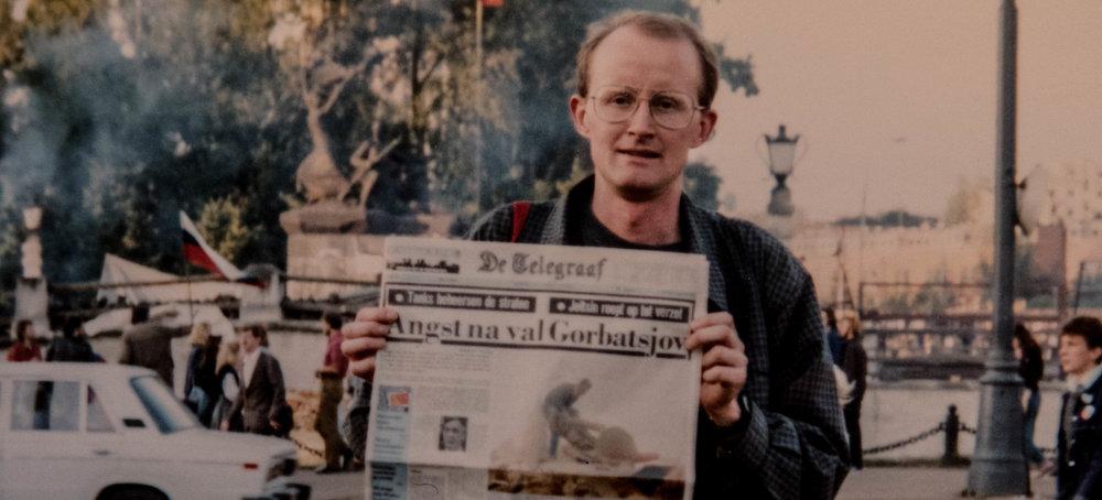 Moskou staatsgreep 1991 Egbert Hartman Gorbatsjov