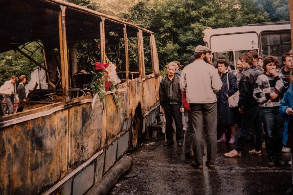 Jeltsin Gorbatsjov staatsgreep Moskou augustus 1991