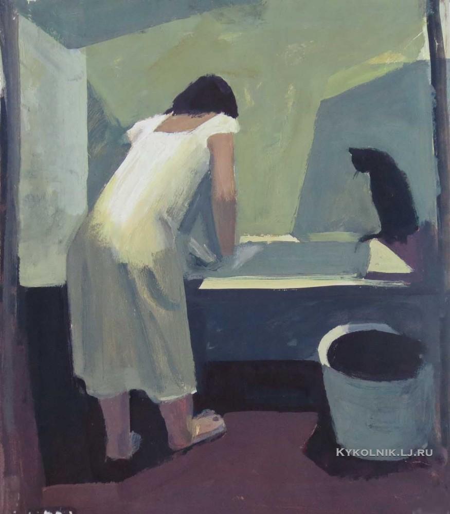 Valerie Masjoekov - De was (1970)