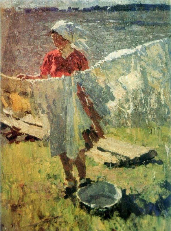 Sergej Tkatsjev - Een winderige dag (1957)