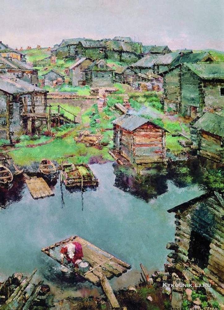 Vasili Rozjdestvenski - Noordelijk dorp. Nizjmoozero (1930)