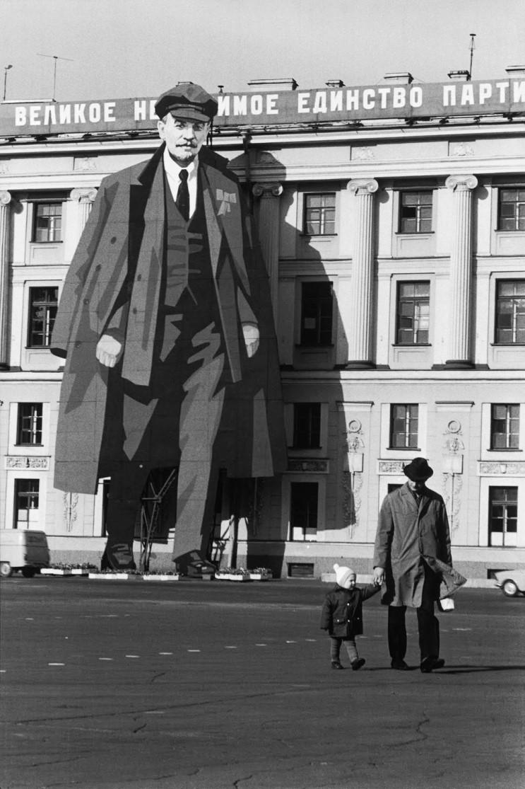 Henri Cartier-Bresson - Leningrad, 1973