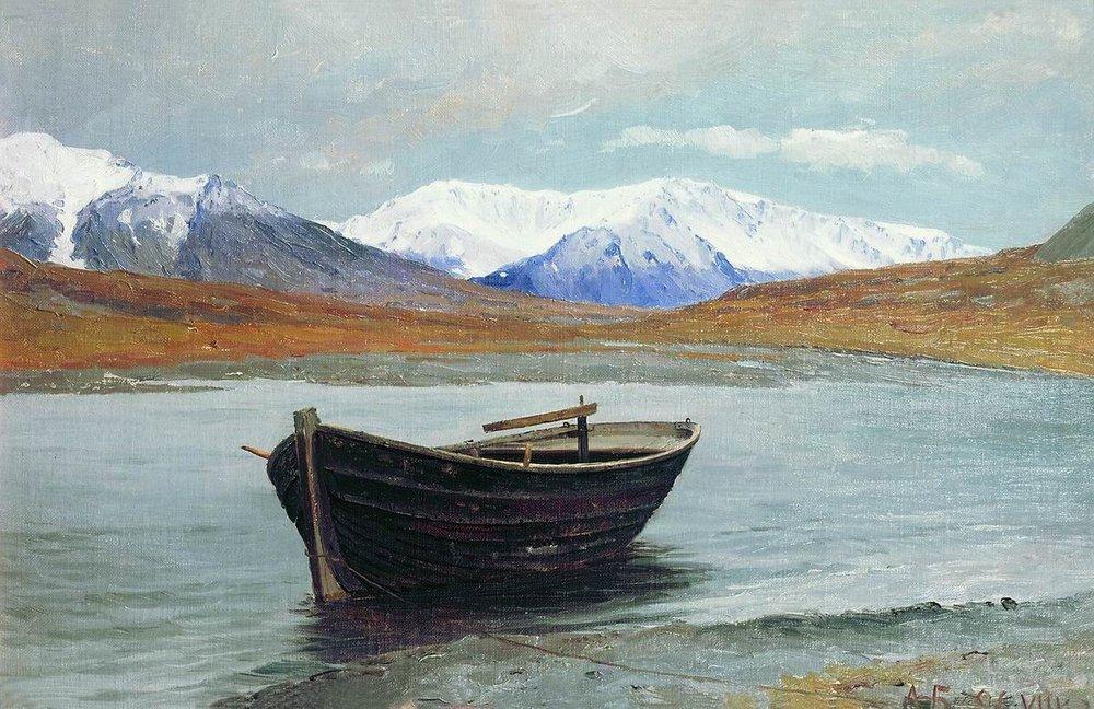 Aleksandr Borisov - Dal van de rivier de Matotsjka, Nova Zembla (1896)