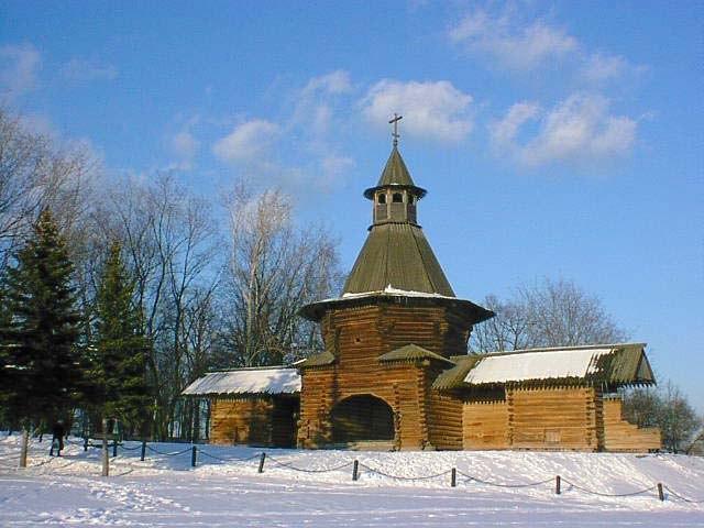 ... en dezelfde toren in Kolomenskoje