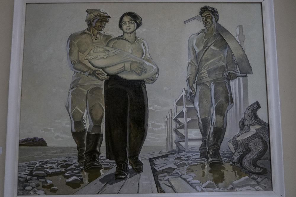V.P. Lanovanko - Het eerste kind van Komsomolsk