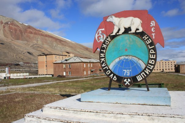 Pyramiden is an abandoned Soviet mining settlement located far above the Arctic Circle on Norway's Svalbard archipelago