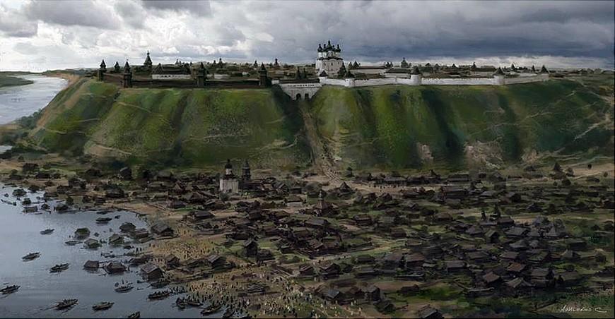 Impressies van Sergej Alibekov voor het filmproject (dat naast een tv-serie ook een bioscoopfilm omvat)