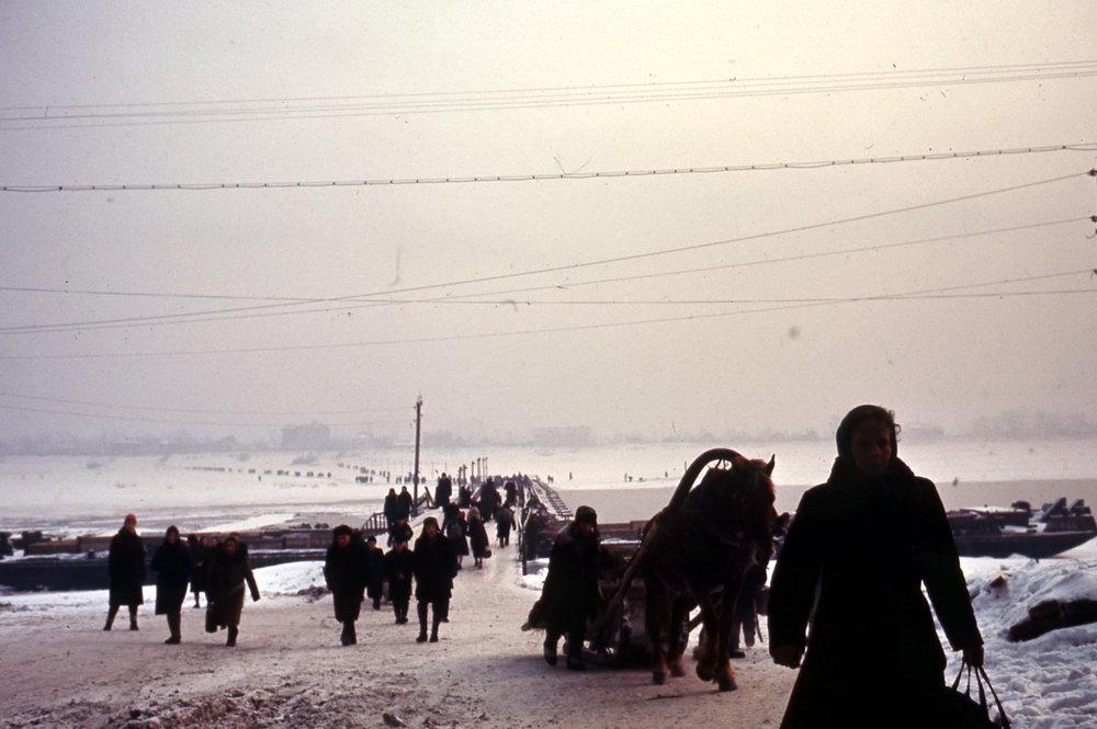 Jaroslavl, oversteek van de Wolga