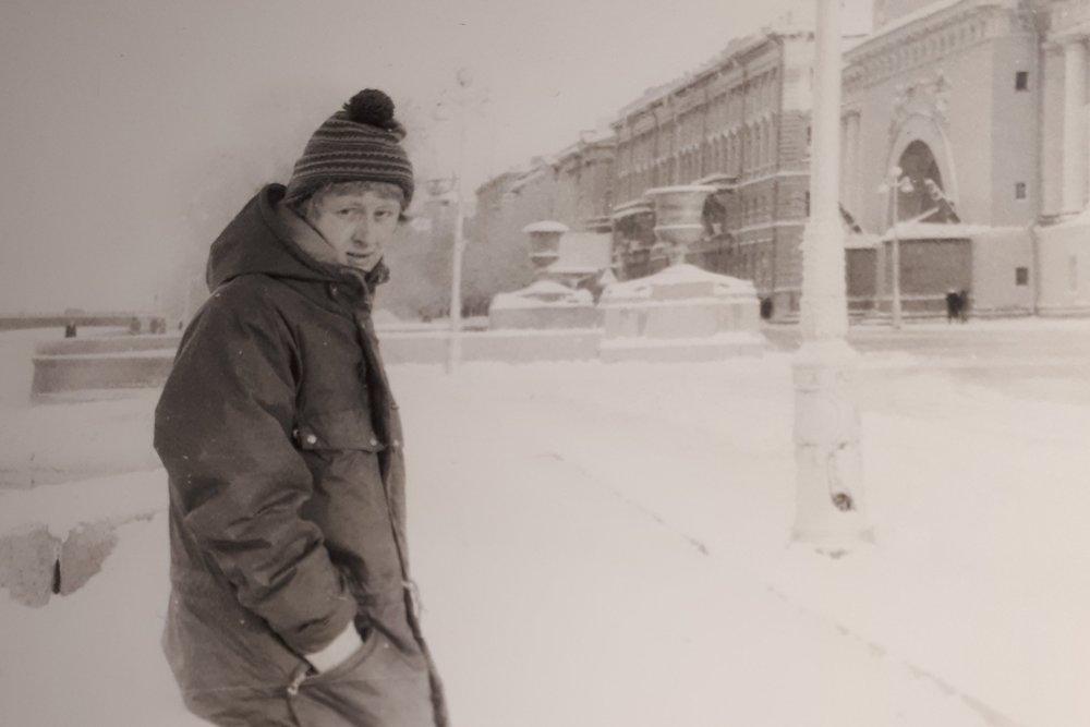Leningrad, december of januari 1981-1982
