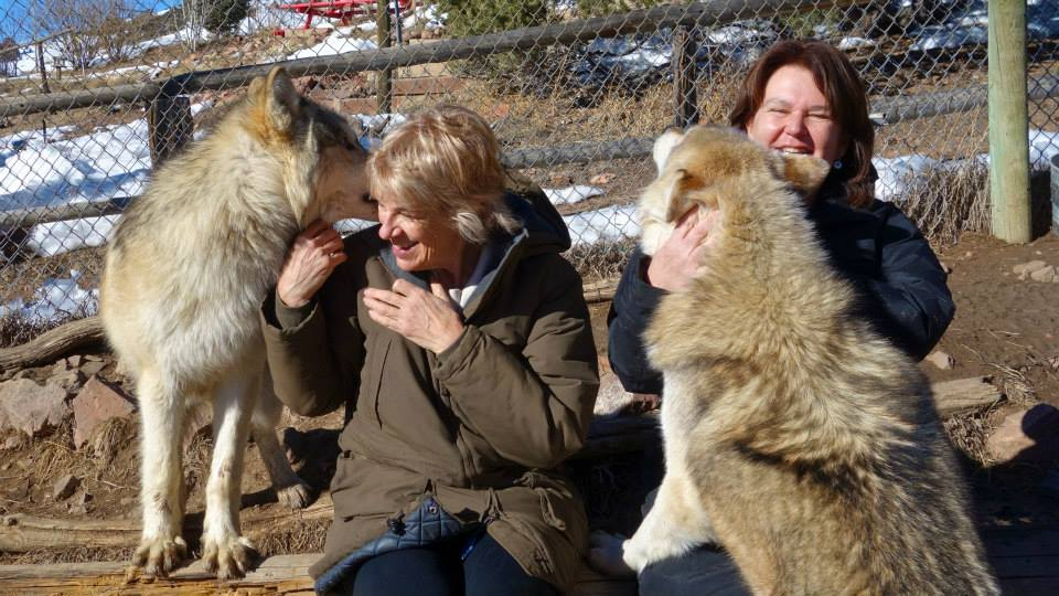 Mission Wolf Colorado Lisa and Cathy.jpg