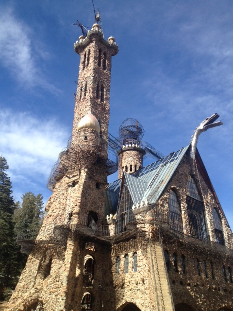 Bishop Castle: Not something you see every day.