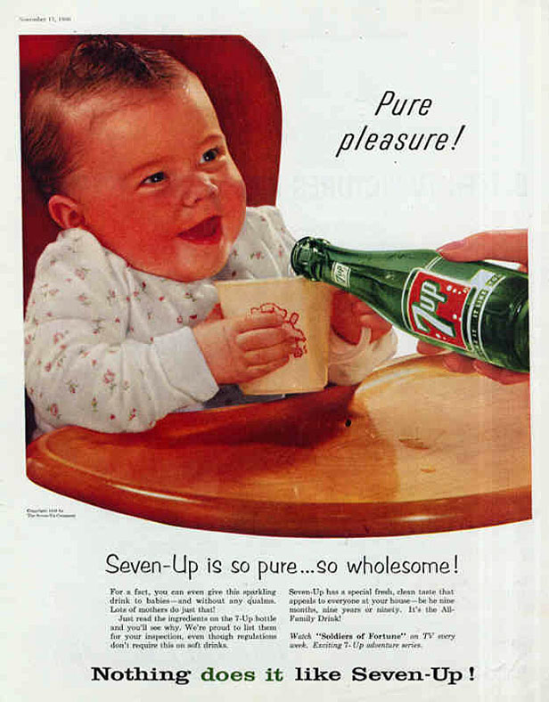 1956 7-Up ad