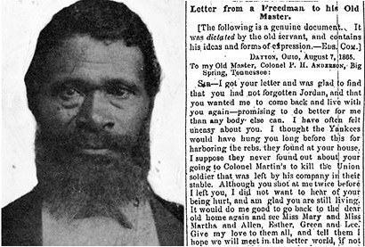 Letter From A Freedman To His Old Master.Letter From A Freedman To His Old Master Piqueshow