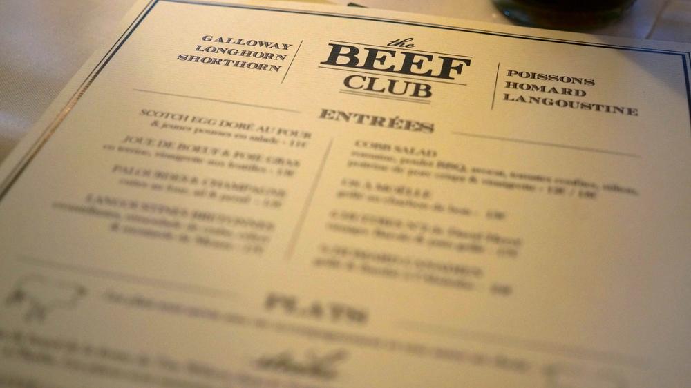 Beef Club Ballroom
