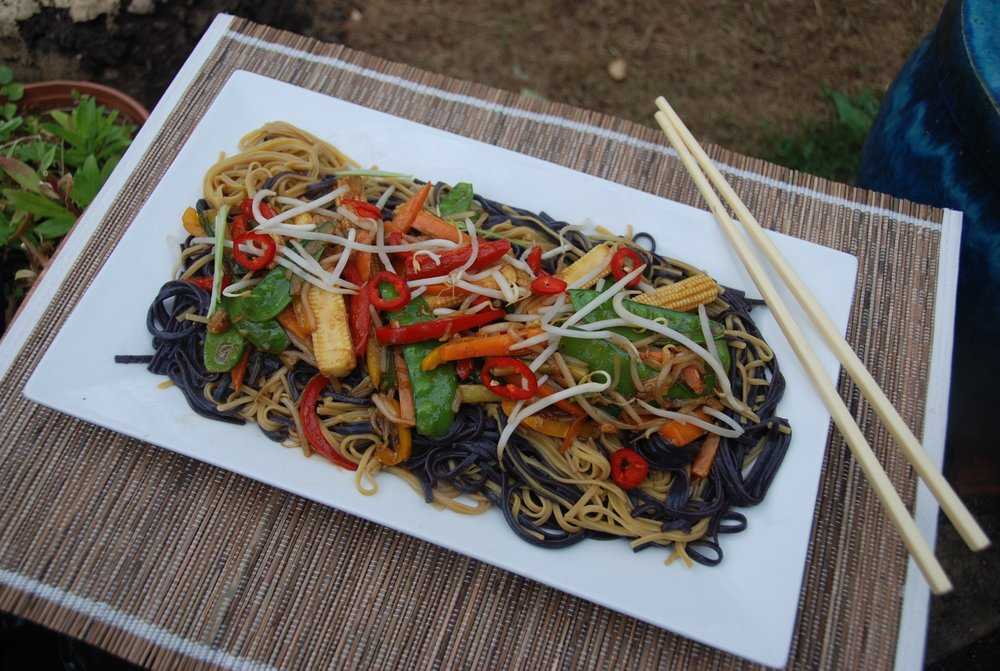 Spicy pepper stir fry