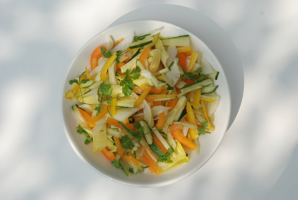 Fennel & Pepper salad