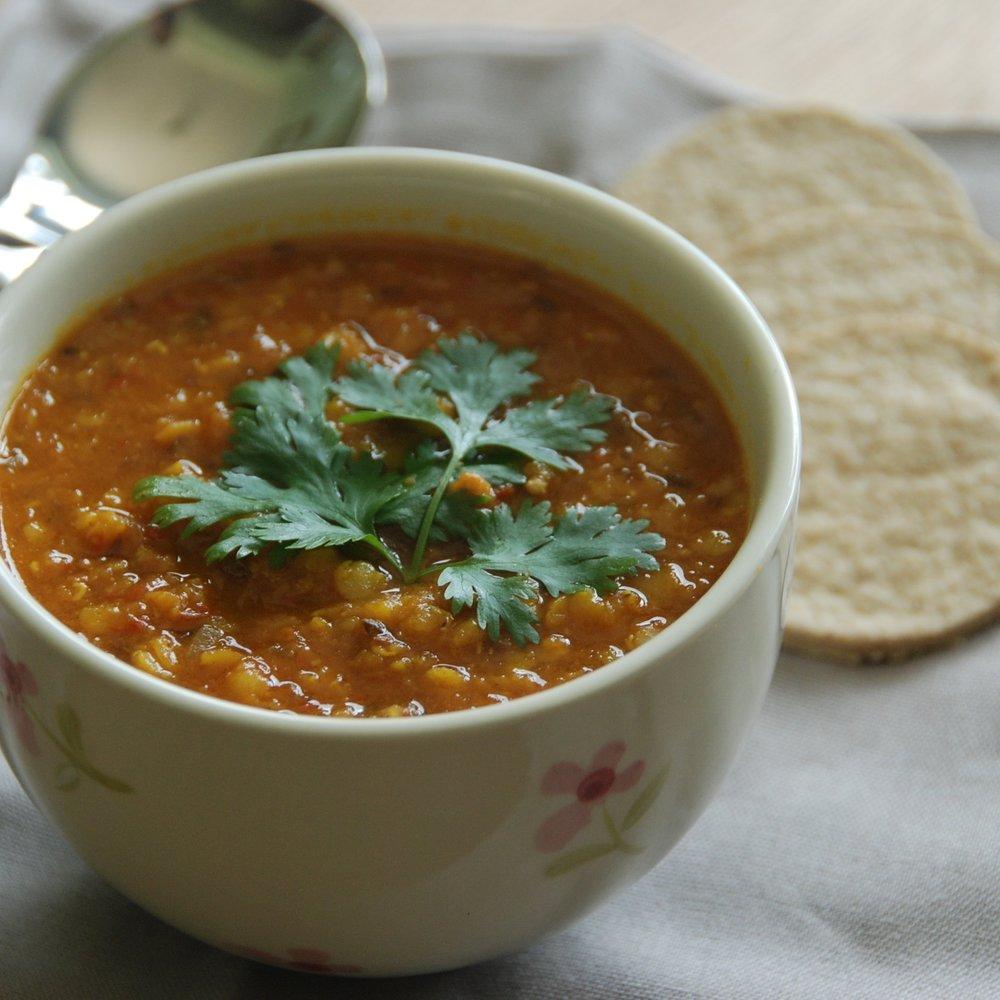 Spicy lentil daal