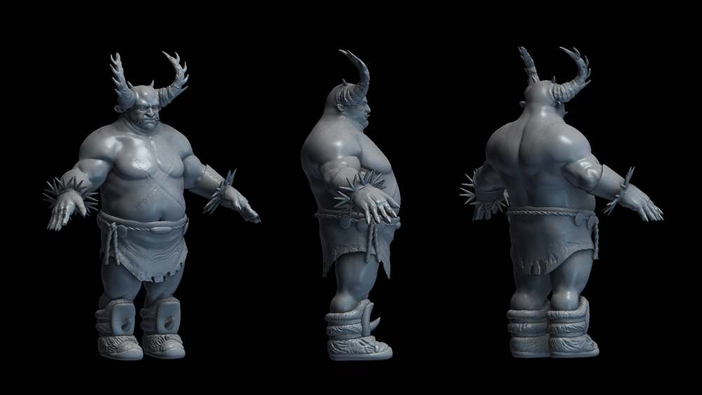 WIP character model, based on a concept by Even Amundsen