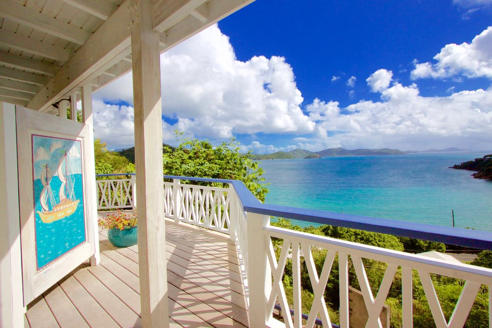 SeaRock, Exclusive St John Villa For Sale