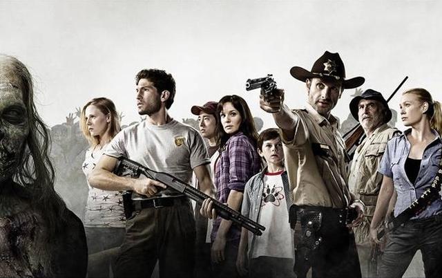 Walking Dead cast shot