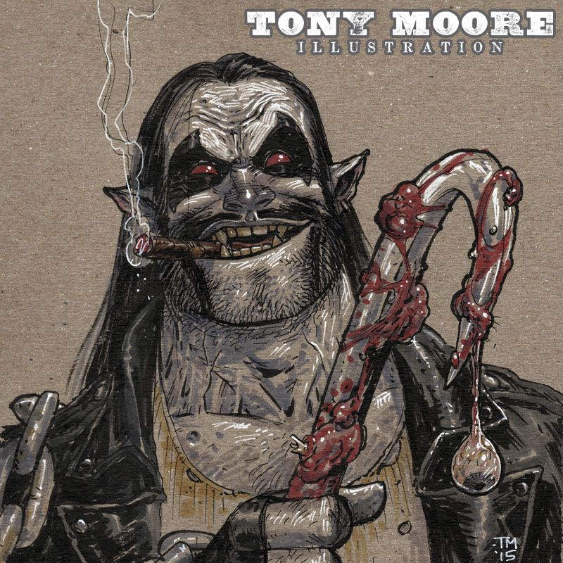 G Anthony Moore Sketch of the Day! LOB...