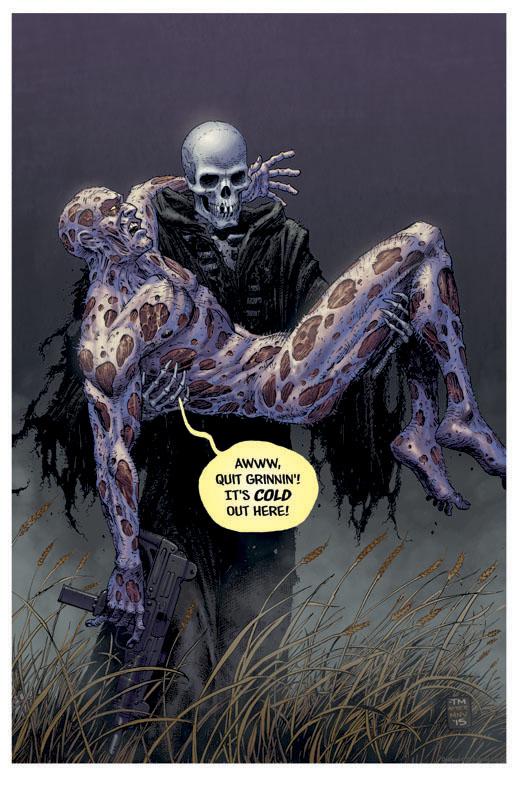Death Of Deadpool Print