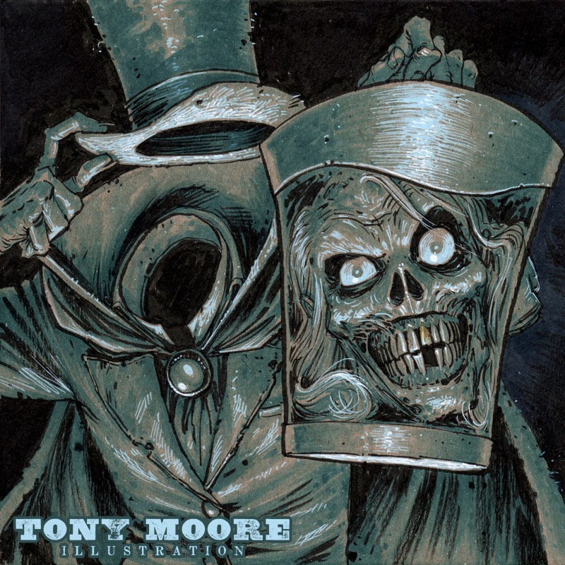 Sketch Of The Day Hatbox Ghost Colonel Tony Moore
