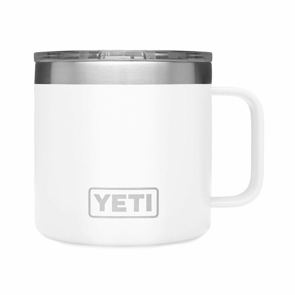 The Mug Every Mom Needs - Don't care about a certain temp? Like your coffee, non high-tech? This cup will keep your coffee warm until dinner and is still cozy like a mug.$25
