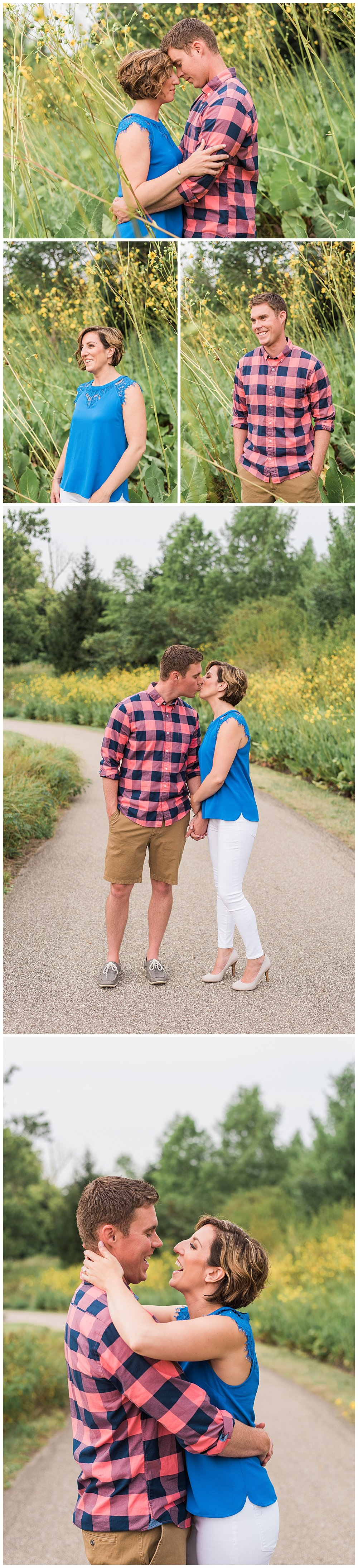 jamie and dave's engagement glenwood gardens cincinnati ohio 2