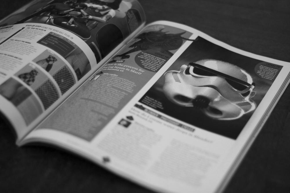 Featured in 3D World magazine