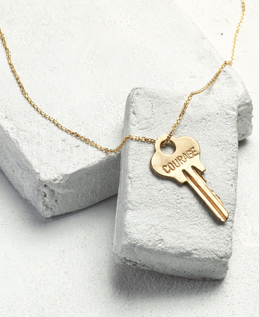 The Giving Keys, Dainty Necklace    Image from: The Giving Keys webpage, www.thegivingkeys.com