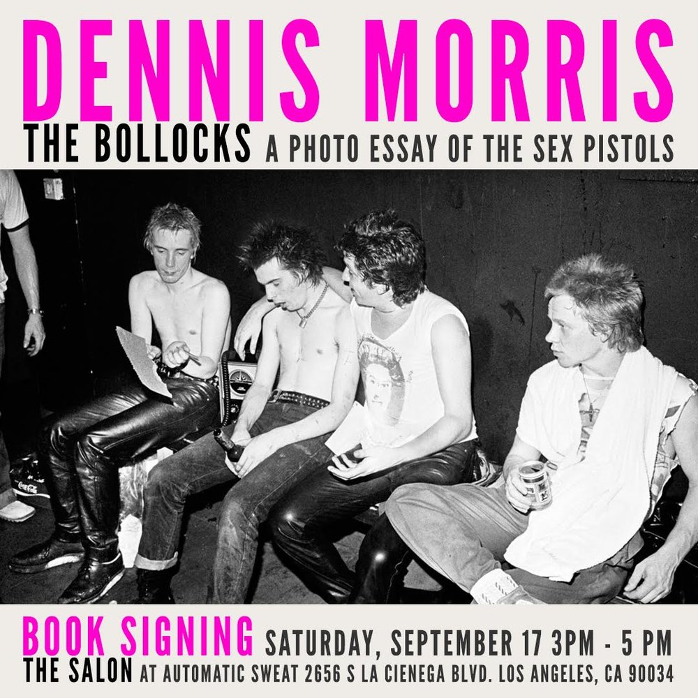 Dennis Morris Book signing and Print Exhibit