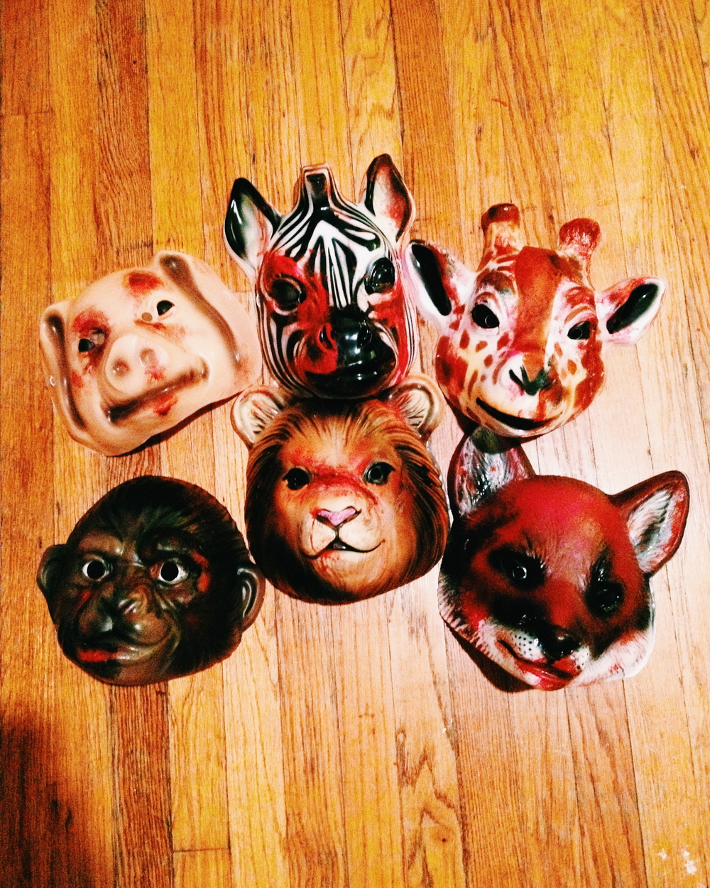 "I don't wanna be buried in a pet cemetery! Masks ""beat up"" by me!"