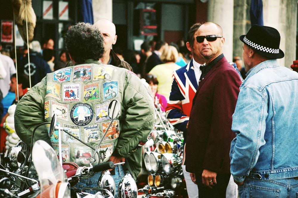 Brighton Mods and Rockers