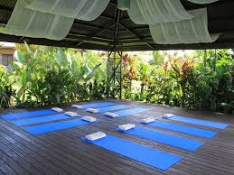 We also loved this outdoor Yoga area!