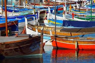 Cote D'Azur Nice Colourful Boats.jpg