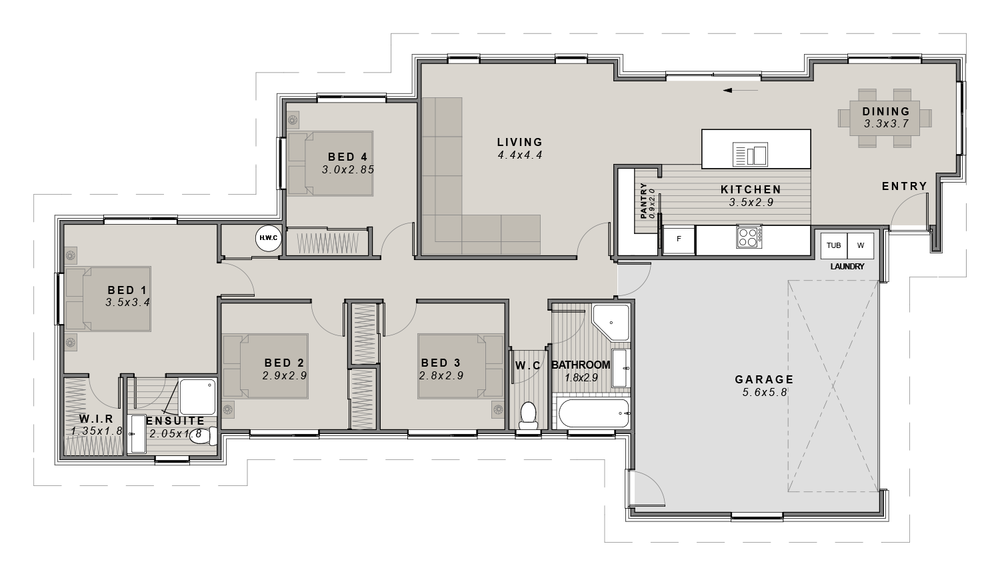 The Stonebrook Floorplan