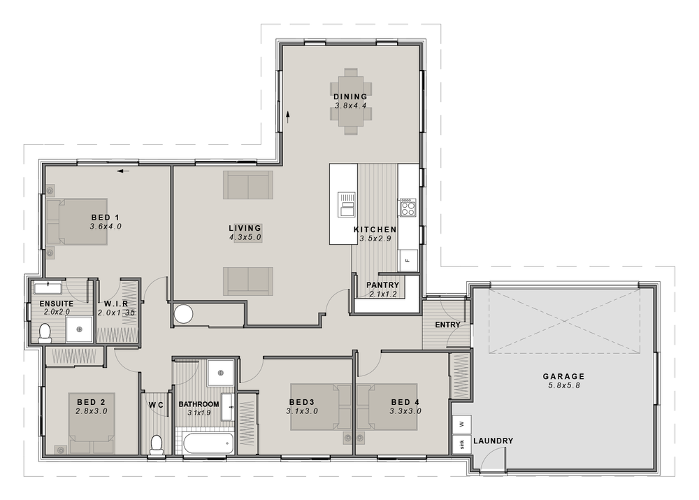 The Sumner Floorplan