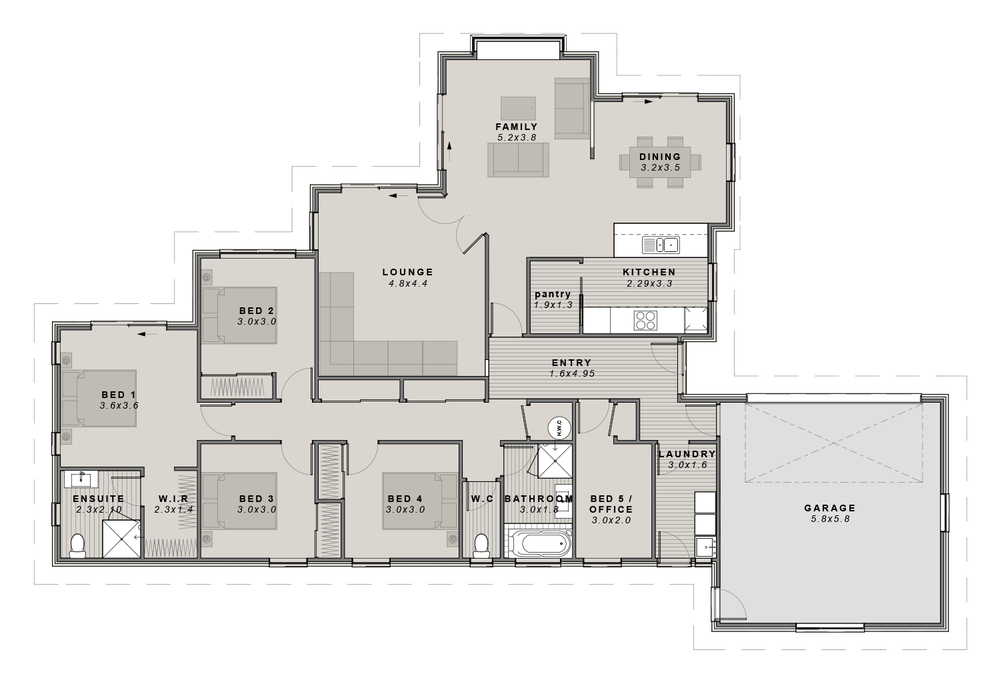 The Flaxton Floorplan