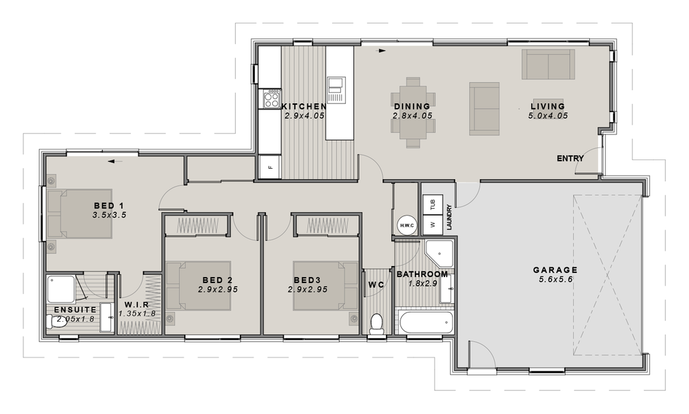 The Hagley Floorplan